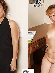Mature dressed undressed, Milf dressed undressed, Undressed, Dressed, Milf dress