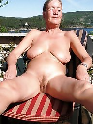Amateur granny, Grannies, Granny outdoor, Outdoor granny, Outdoor, Naked