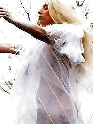 See through amateur, See through, Lady gaga, Dress, Under, Dressing
