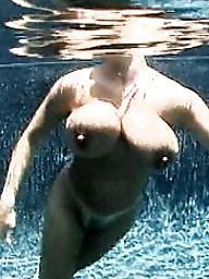 Big boobs, Nipples, Big tits, Tits, Underwater, Pool