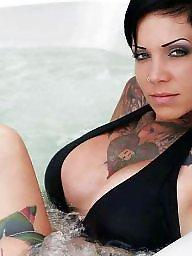 Lee, Inks, Inked amateurs, Inked, Ink, Hot amateur brunette