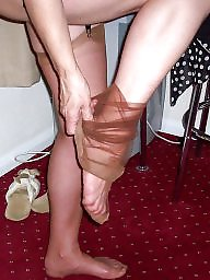 Mature stockings, Stockings, Girdles, Stocking, Mature stocking, Upskirt