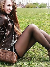 Teens in stockings photos