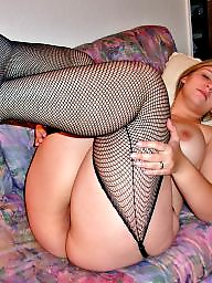 Bbw stockings, German, German milf, Bbw stocking, Fishnet, Stocking milf