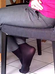Feet, Nylons, Nylon feet, Nylon, Mother in law