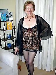 Granny, Bbw granny, Clothed, Granny bbw, Mature lingerie, Granny boobs