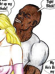 Cartoons, Interracial cartoon, Interracial cartoons