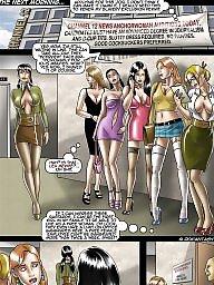 Comic, Bdsm cartoons, Comics, Bdsm cartoon, Train, Bdsm comic