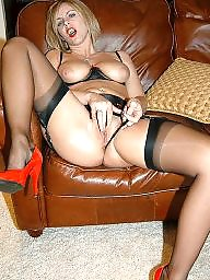 Cougars, Stocking milf, Mature stockings, Cougar