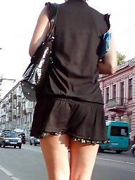 Upskirt, Street