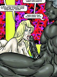 Interracial, Cartoons, Cartoon, Milf cartoon, Comic