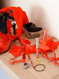 Dressing room, Amateur stockings, Dress, Dressed, Toys