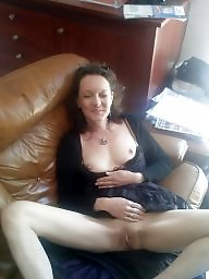 French milf, French mature, French, Flashing mature