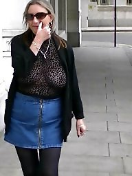 Flashing tits, Public tits, London