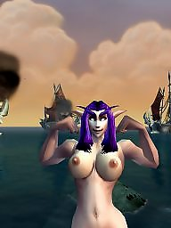 Warcraft, World of, World big boob, World big, World, S world