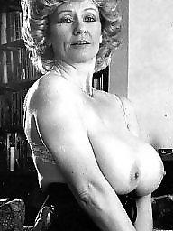 Vintage milf, Vintage tits