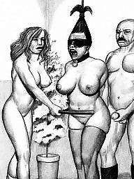 Bdsm cartoons, Drawings