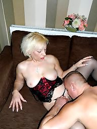 Mature fuck, Fuck mature, Condom, Grandmother, Old young, Young amateur