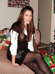 Stockings, Flashing, Flash, Christmas