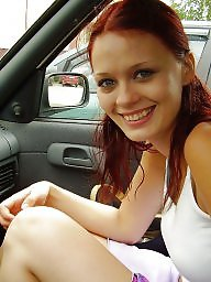 Redhead flashing, Redhead flash, Somethings, Something, Amateur redhead flashing, Amateur redhead
