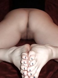 Feet, Hairy fuck, Stocking feet, Fucking