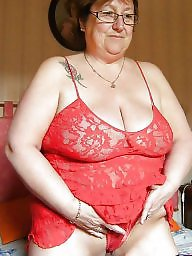 Granny, Grannies, Granny boobs, Clothed, Granny mature, Mature lingerie