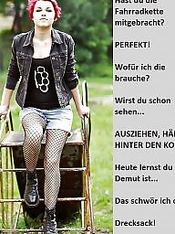Femdom captions, Femdom caption, German caption, German captions, German femdom, Teen captions