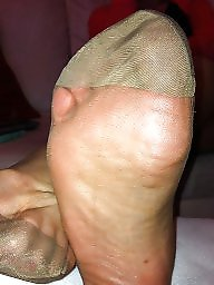 Wife,s feet, Wife s feet, Wife feet, Wife 3-some, Wife 3 some, Rht stockings