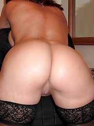 Mature ass, Ass mature, Mature stockings