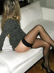 My wife, Stockings, Wife, Amateur stockings, Show