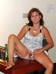 Hotwife, Brunette mature, Amateur mature