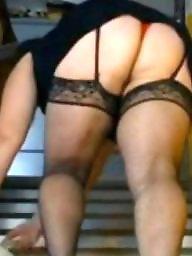 Bbw upskirt, Bbw stockings, Bbw stocking