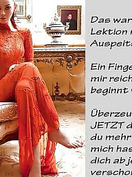 Femdom captions, German caption, German captions, German, Captions, Femdom caption