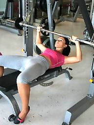 Mothers, Gym, Mature naked, Naked