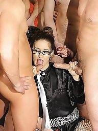 Mature glasses, Amateur mature, Glasses, Gang bang, Sexy mature