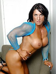 Muscle, Shirt, Muscles, Fishnet, Muscled, Fishnets