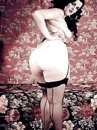 Vintage ass, Hairy ass, Vintage