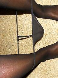 Ebony stockings, Ebony amateur, Amateur stockings, Wife stockings, Black stockings, Ebony wife