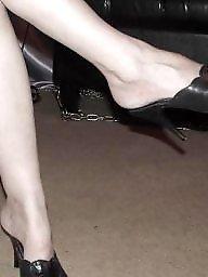 Mature femdom, Heels