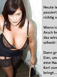 Femdom captions, German captions, Teen captions, Teen femdom, Femdom caption, Caption