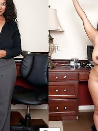Mature, Milf, Dressed undressed