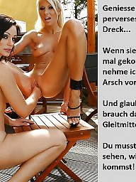German caption, Bdsm captions, German captions, Femdom captions, Teen captions, Femdom caption