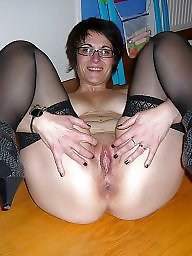 Stockings old, Mature 01, Old stockings, Old stocking, Old stock, Mature stockings