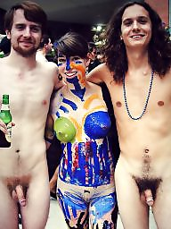 Nudism, Outside