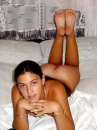Nına b, Netted, Nets, Latin brunette, Amateur nets, Brunette latin