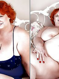 Before and after, Bbw clothed, Naked, Before after, Clothed naked, Clothes