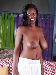 Big nipples, Ebony nipples, Ebony tits, Big black tits, Ebony big tits, Nikki