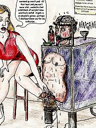 Femdom cartoon, Bdsm art, Cartoon bdsm, Femdom, Femdom art, Bdsm cartoon