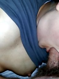 Hairy wife, Cock sucking, Wife blowjob