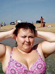 Mature beach, Russian mature
